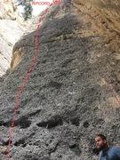 Rock Climbing Photo: Anal Bead Ripcord + Clay