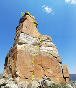 Rock Climbing Photo: Phobos