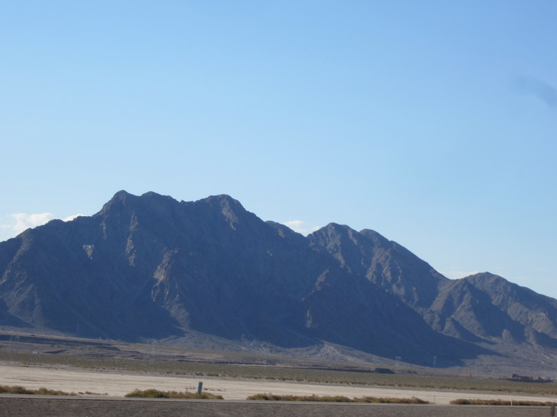 Rock Climbing Photo: Black Mountain from US95.