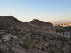 Looking north to Dinosaur Ridge.