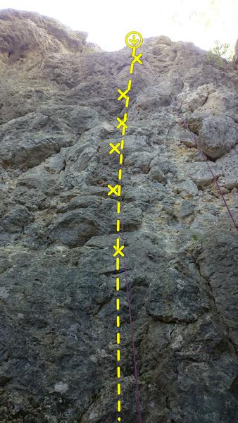 Rock Climbing Photo: Googlesichere Weste