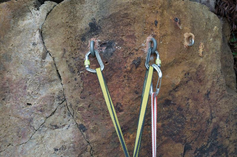 Rock Climbing Photo: 150. Thierry - Taiwan made Titanium bolts