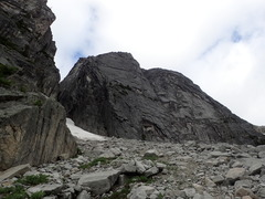 Rock Climbing Photo: Approaching Mouse's Tooth