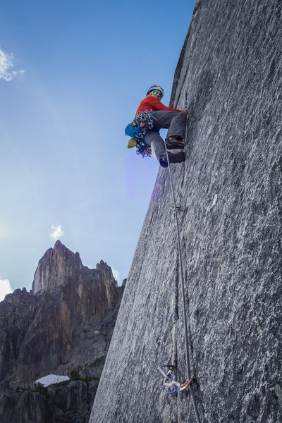 Rock Climbing Photo: Starting P5