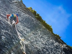 Rock Climbing Photo: P7 Seam