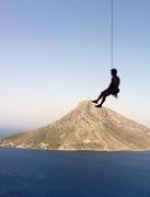 Rock Climbing Photo: nice lower-off
