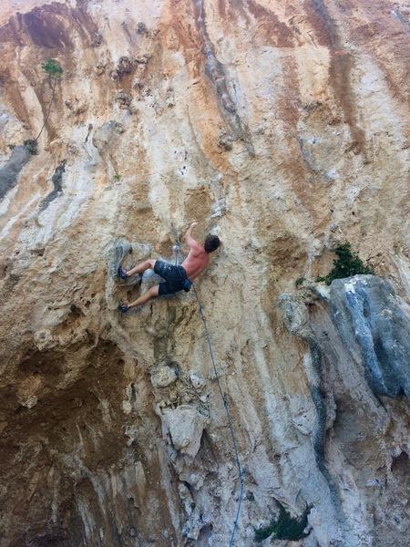 Rock Climbing Photo: crazy ninja beta