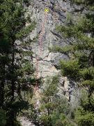 Rock Climbing Photo: Mu topo