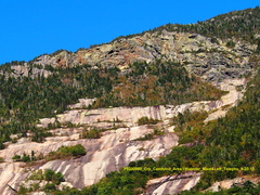 Rock Climbing Photo: Upper slabs around Candyland from different angle