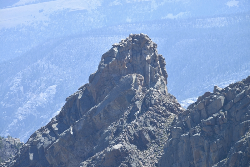 Rock Climbing Photo: Terrapin Wall's summit from the west