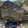 Routes on Traverse Boulder