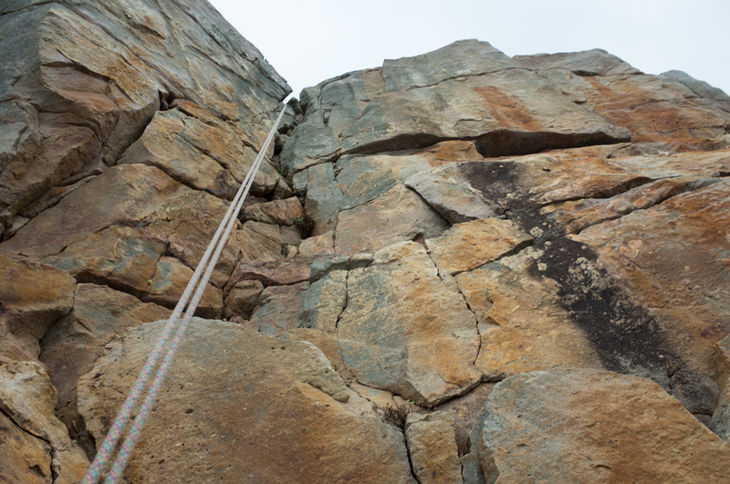 Rock Climbing Photo: 117. Let's do the trad - 2nd pitch