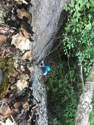 Rock Climbing Photo: Drew following