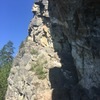 Belaying at the start of pleasant surprise