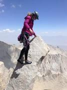 Rock Climbing Photo: Having some fun on blocks, pre-summit, post roped ...