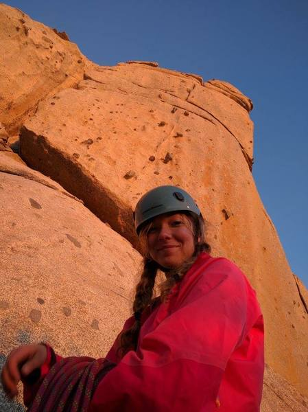Rock Climbing Photo: Alpenglow on Candyland