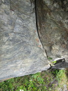 another shot of the crux finger section