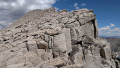 Rock Climbing Photo: south end of Mt Starr summit ridge -- top of route...