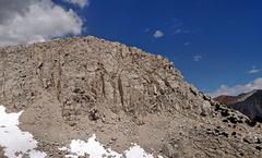 Rock Climbing Photo: route SSW Ridge Low (seen from W)
