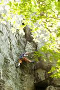 Rock Climbing Photo: Half way up smoke stack. photo by torie kidd