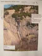 Rock Climbing Photo: Hector's Area 7-13-17, Table Mtn