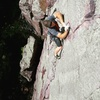 Josh on Lost Face Overhang!