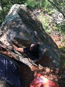 Rock Climbing Photo: Luis sending Drop Dead Gorgeous.