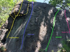 Rock Climbing Photo: Right Wall