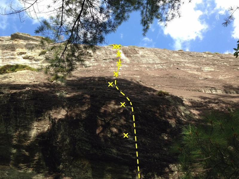Rock Climbing Photo: Buzzard Rock - TBD