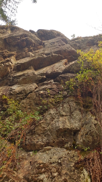 Rock Climbing Photo: Right side of the rock