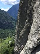 Rock Climbing Photo: 3rd pitch of Luna Nascente