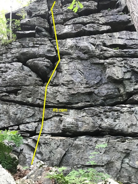 Rock Climbing Photo: tunxis obscurity