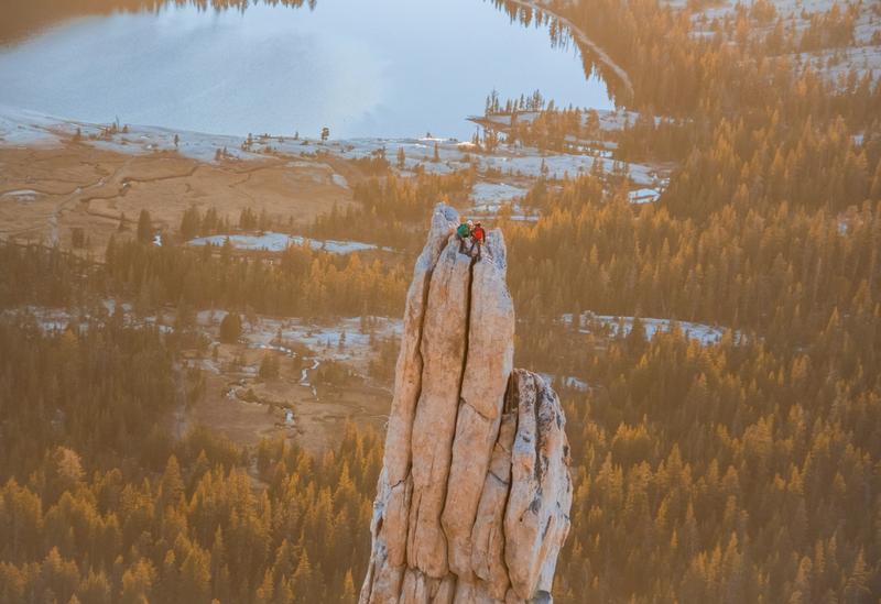 Rock Climbing Photo: Eichorn pinnacle at sunset