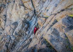 Rock Climbing Photo: Class 4 up Mt Humprheys