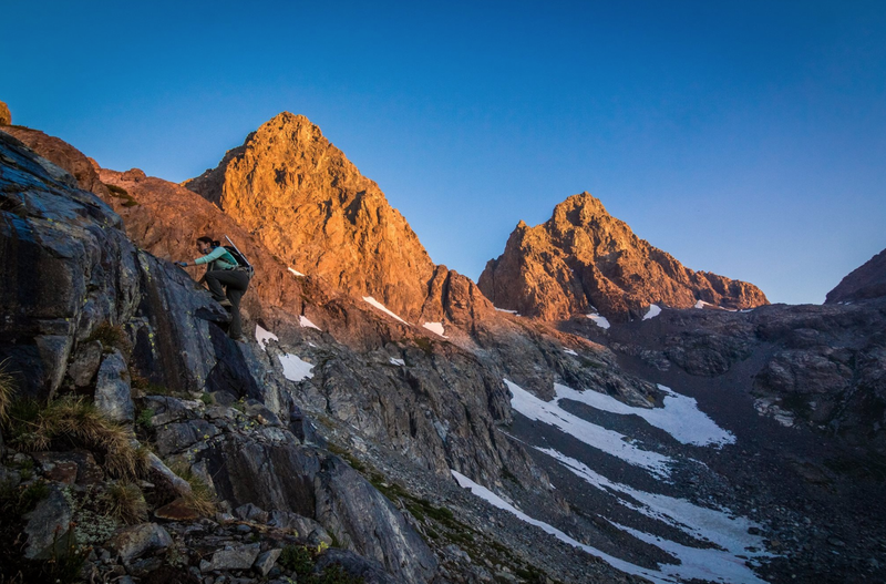 Rock Climbing Photo: Mt Ritter at sunrise