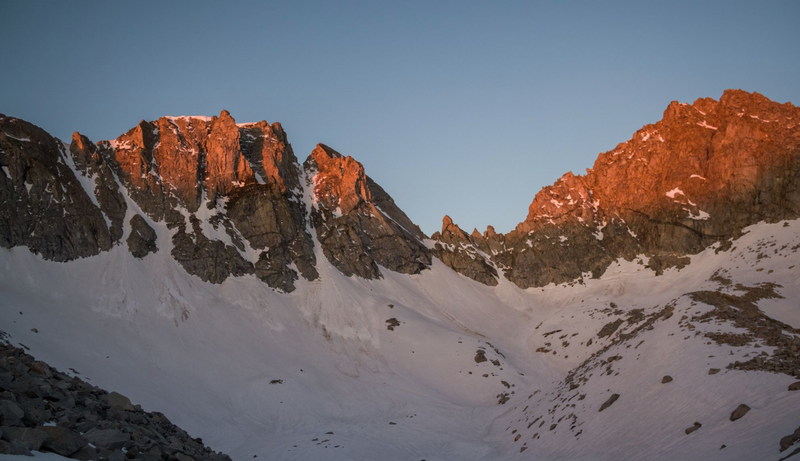 Mt Gilbert at sunrise