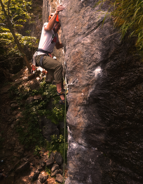 Rock Climbing Photo: Nams on Prime Climb