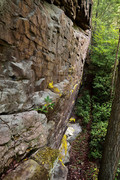 Rock Climbing Photo: Located on the West side of the ridge, opposite th...