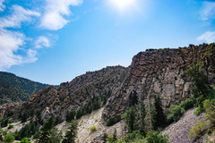 Rock Climbing Photo: Landscape view of route