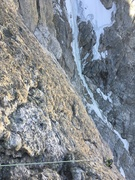 Rock Climbing Photo: Following P5 of Emotional Rescue with the Enclosur...