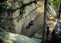 Rock Climbing Photo: Dragon Lady V4