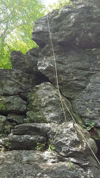 Rock Climbing Photo: Good pic of the climb!