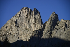 Rock Climbing Photo: North Face of East Temple Peak