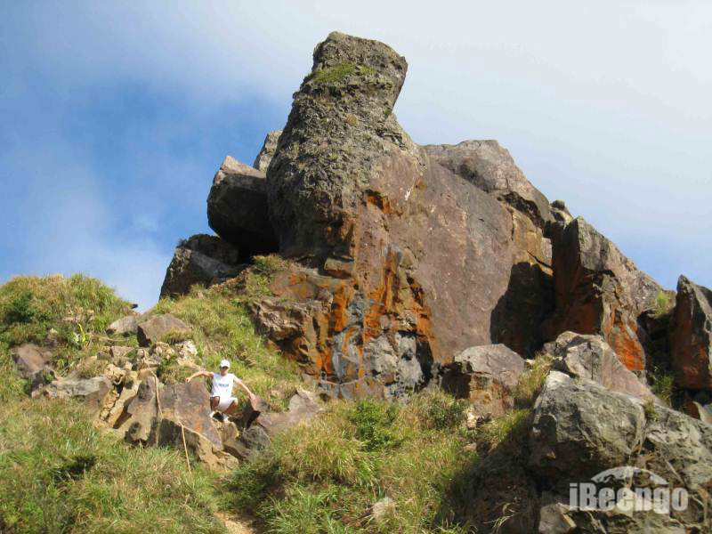 Rock Climbing Photo: This picture shows a good angle of where to find t...