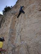 Rock Climbing Photo: Nate leading dogtown