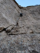 Rock Climbing Photo: Nate on More Funky Than Gunky