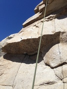 Rock Climbing Photo: First roof.