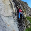 The crux section of Broken Head