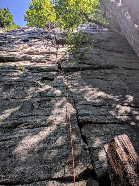 Rock Climbing Photo: 5.6?