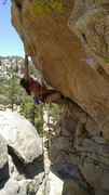 Rock Climbing Photo: Long Arm of the Law 11a 
